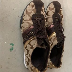 Brown Jayme Coach Shoes